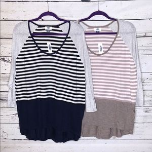 Lot of 2 NWT Old Navy XL Lightweight Sweaters